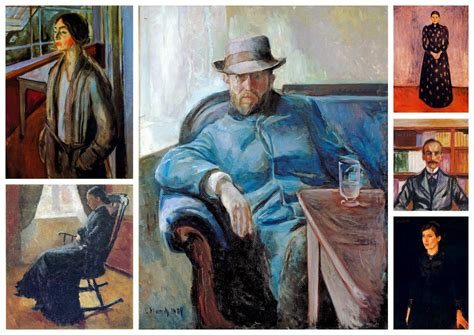 Edvard Munch Collection IV (portrait) | Expressionismo