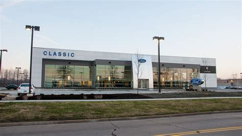Classic Ford/Lincoln Dealership   Cleveland Construction, Inc