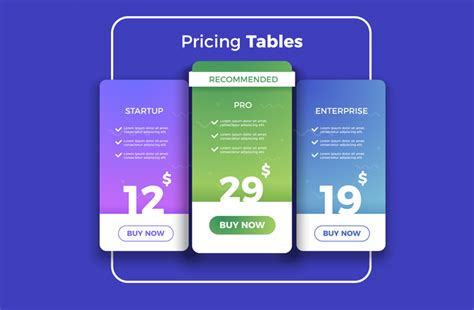 Top 12 WordPress Pricing Table Plugins Compared - 2019