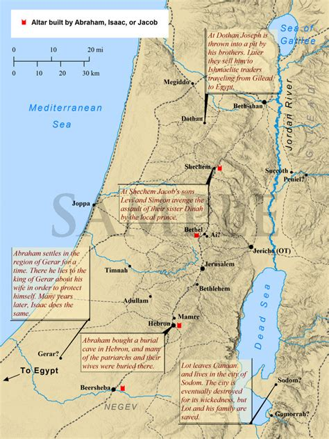 Bible Mapper - Gallery of Maps