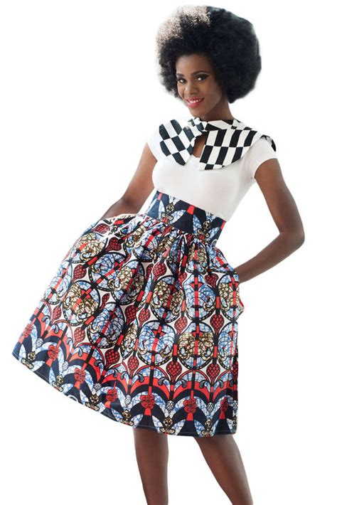Jupe pagne africaine - Naayacollection