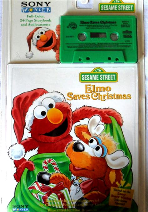 Elmo Saves Christmas (book and tape)   Muppet Wiki