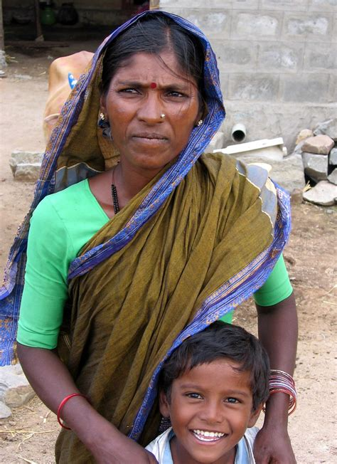 Indian mother and her kid | More pictures taken by my