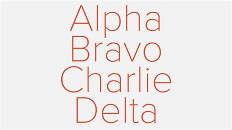 Learning the Nato Phonetic Alphabet: Alpha, Bravo | Aerial