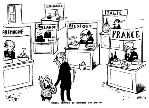Cartoon by Pinatel on the signing of the Rome Treaties (29