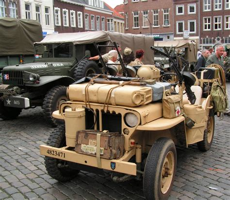 Jeep Willys MB That Used by The Red Cross | Jeep Enthusiast