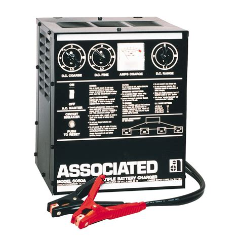 Associated 6080A Multi-Battery Charger 110 Amp, 15