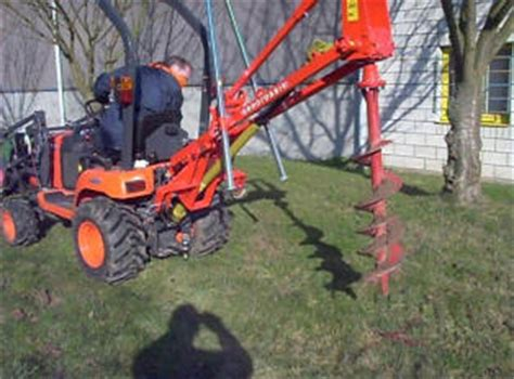 Tariere pour micro tracteur – Taille haie tracteur occasion