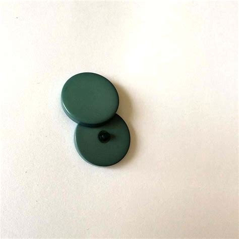 Bouton tige grosse taille vert sapin lot 3 - Accessoires