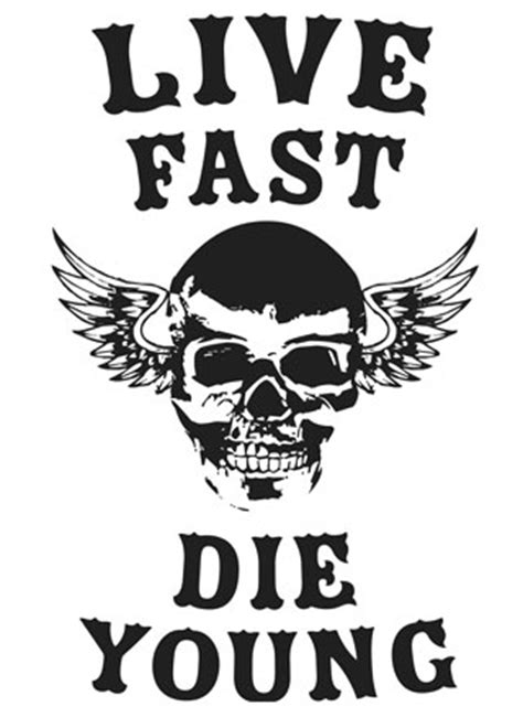 Live Fast Die Young Mens T Shirt   Magik City - Cool T