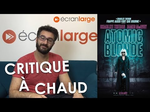 """[CRITIQUE] """"Atomic Blonde"""" (2017) : Charlize Theron"""