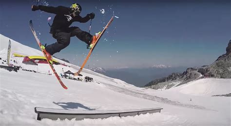 Fans Call The Trick, Skier Does Them On The Spot | GearJunkie