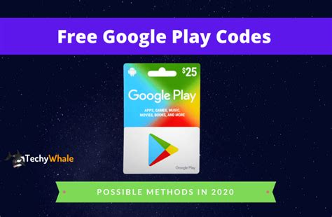 Free Google Play Codes 2020 & Gift Cards - Generator Works?
