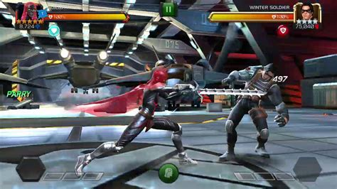 MCOC 5* Guillotine 2099 R3 vs ROL winter Soldier - YouTube