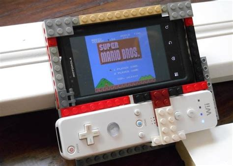 Lego Smartphone Game Controller Using Wiimote Or PS3
