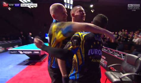 Mosconi Cup OUTRAGE as Jayson Shaw THROWS cue as sparks