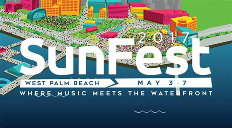 SunFest 2017 Lineup - May 3 - 7, 2017