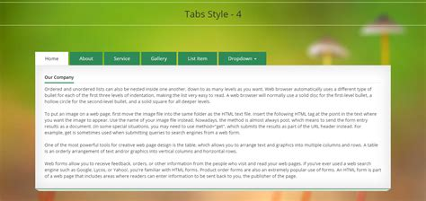 My Tab - Responsive Bootstrap Tabs by Designcollection