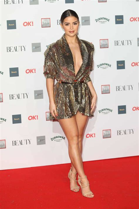 Demi Rose Attends The Beauty Awards with OK! in London 11