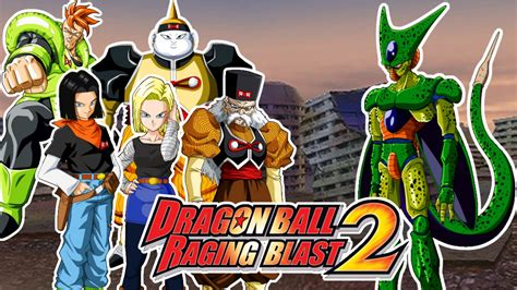Dragon Ball Raging Blast 2 : Cell VS Androides (C16, C17