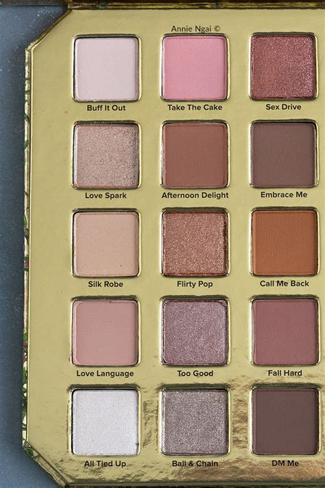 Too Faced Natural Lust Palette - Swatches and First