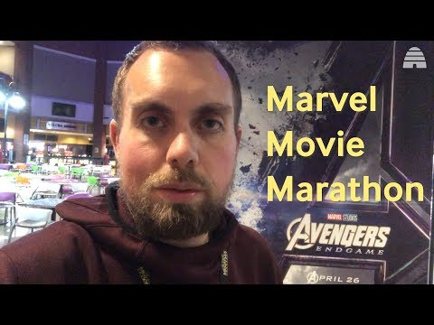 12 Marvel Movies in 31 Hours