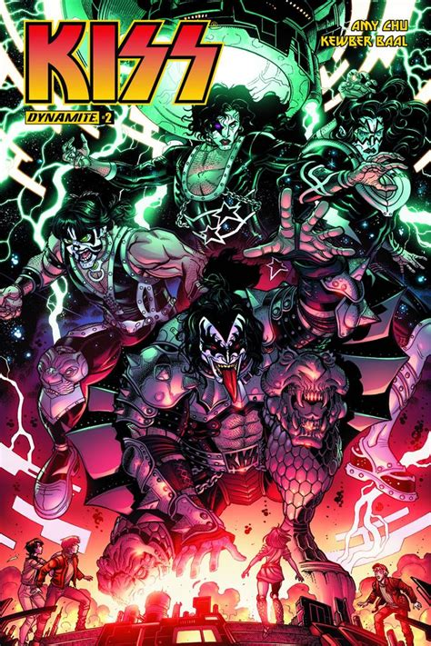 No stranger to comic books, KISS returns to its roots