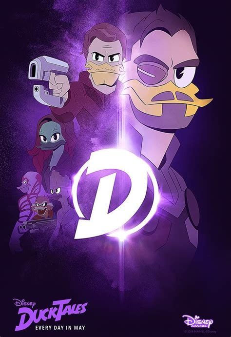 DuckTales and Avengers: Infinity War Mashup Movie Posters