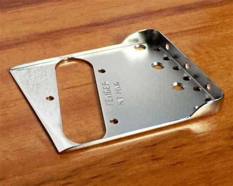 Fender Telecaster Bridge Plate with Double Long Notches