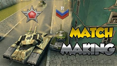 TANKI ONLINE - HOW MATCHMAKING WORKS ON LOW RANKS - YouTube