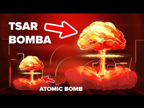 Tsar Bomba,most powerful nuclear weapon ever detonated