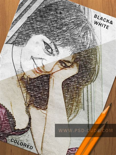 Create a Pencil Photo Sketch in Photoshop - Photoshop
