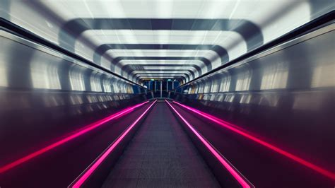 Download wallpaper: Subway tunnel in Oslo 3840x2160