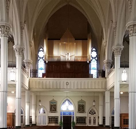 Our new organ for St