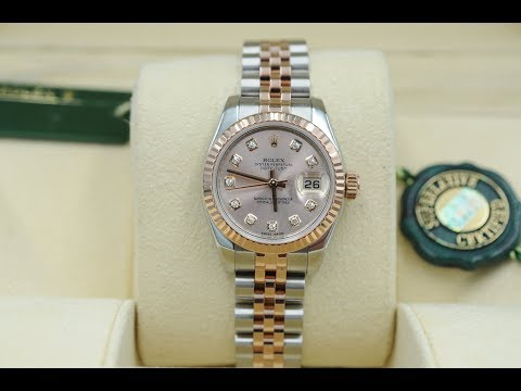 Oyster Perpetual Lady-Datejust 26mm watch in steel | Rolex