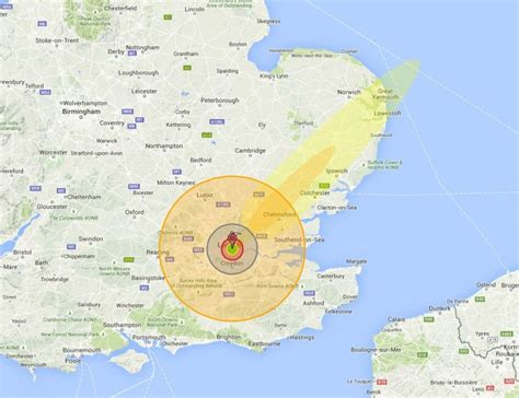 Nuke Map: See what a nuclear bomb would do to your home