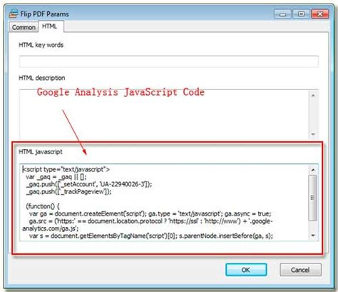 How to make the output flipping brochures support Google