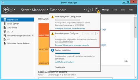 Deploying Windows Server 2012 R2 Essentials in an Existing