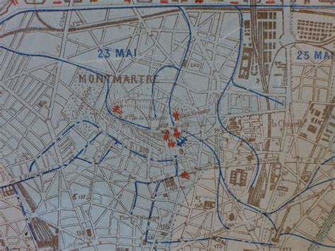Mapping the 'Bloody Week': The Last Days of the Paris