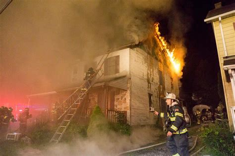 2 firefighters, 1 civilian injured in Caln house fire