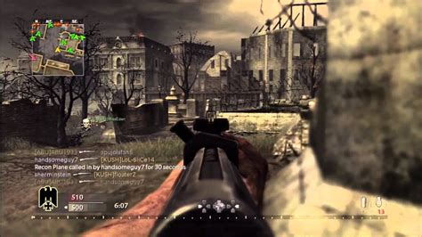 World at War Multiplayer Gameplay - Call of Duty WaW