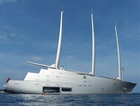 Sailing Yacht A spotted in Cannes - SuperYacht World
