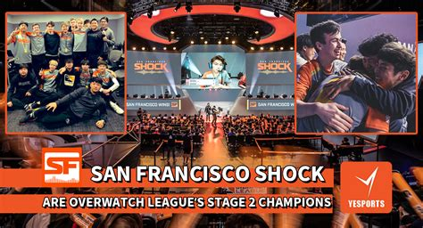 """""""SAN FRANCISCO SHOCK"""" ARE THE OVERWATCH LEAGUE'S STAGE 2"""