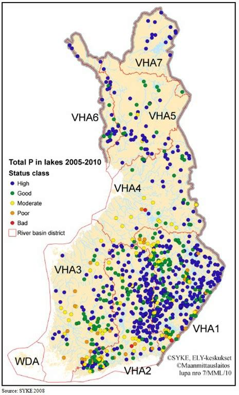Freshwater - State and impacts (Finland) — European