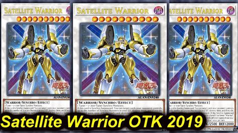 【YGOPRO】SATELLITE WARRIOR OTK DECK 2019 - YouTube