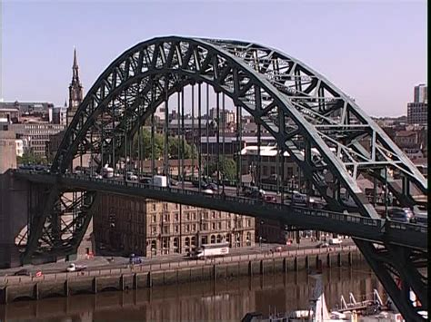 Ville / Pont / Newcastle upon Tyne / Angleterre | SD Stock