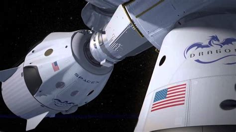 How SpaceX Dragon's Taxi to ISS will Self-Land   Animation