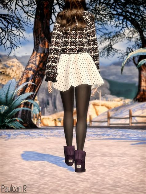 Paluean R Sims: UGG Boots Classic Mini • Sims 4 Downloads