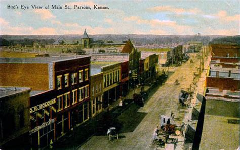 Penny Postcards from Labette County, Kansas