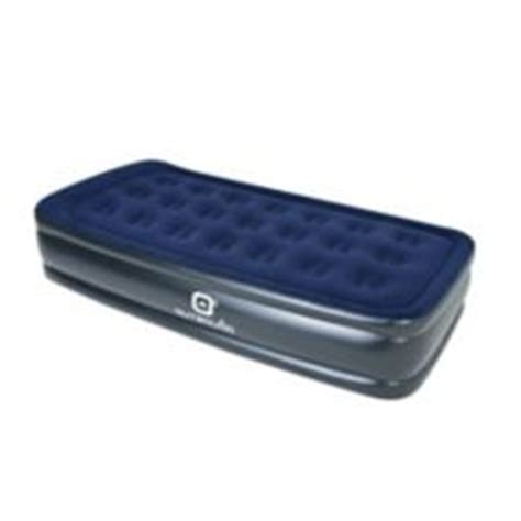 Outbound Double High Flocked Air Mattress, Twin | Canadian